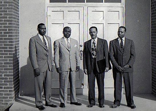 NAACP lawyers Hill Martin 1949