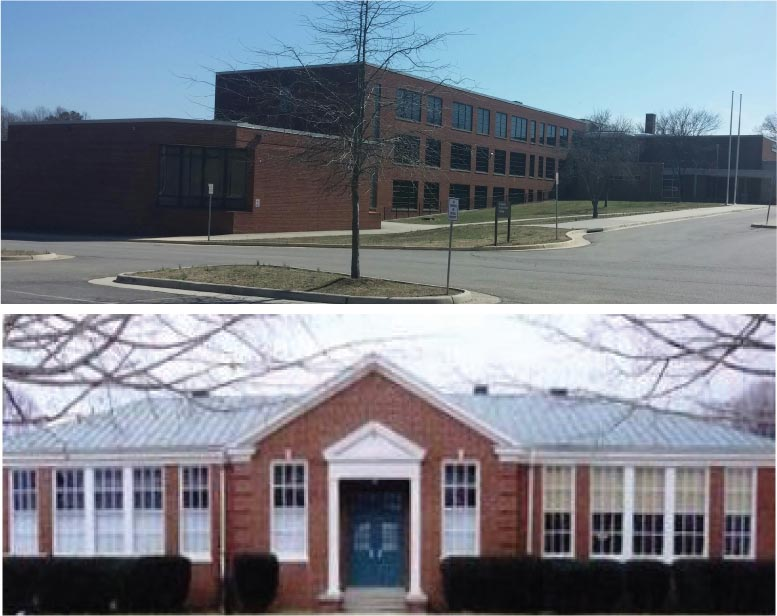 former schools converted community centers