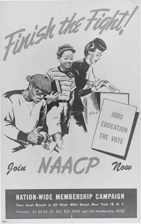 NAACP recruitment poster join now