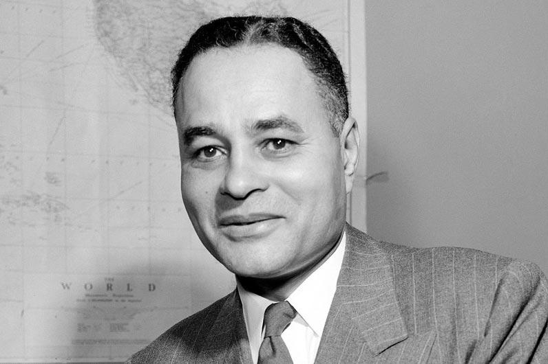Dr. Ralph Bunche diplomat