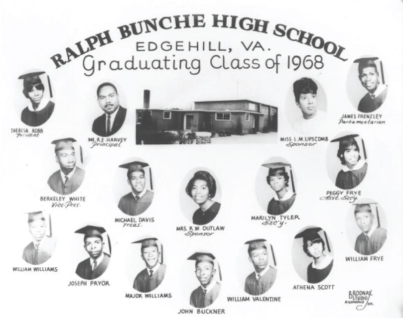 ralph bunche high school 1968 graduating class