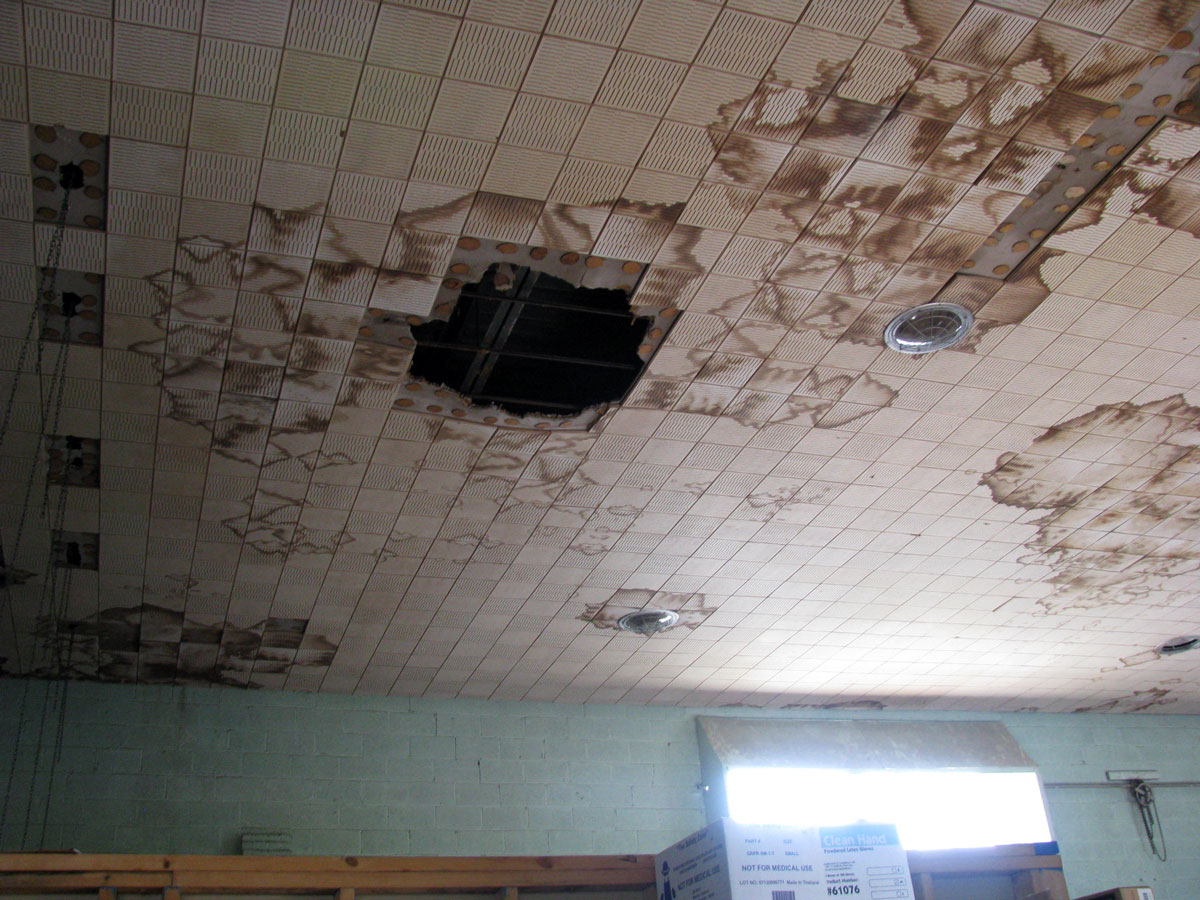 Ralph Bunche High School interior