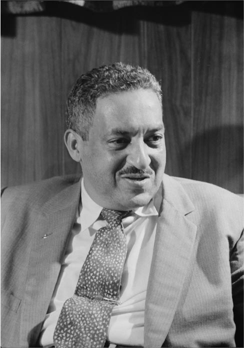 Thurgood Marshall NAACP attorney